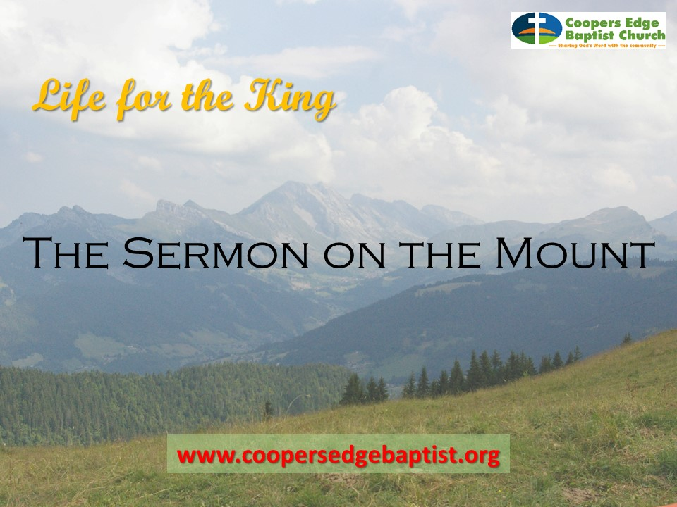 Sermon on the mount – Overview